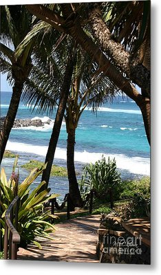 Metal Print featuring the photograph A Maui Afternoon by Mary Lou Chmura
