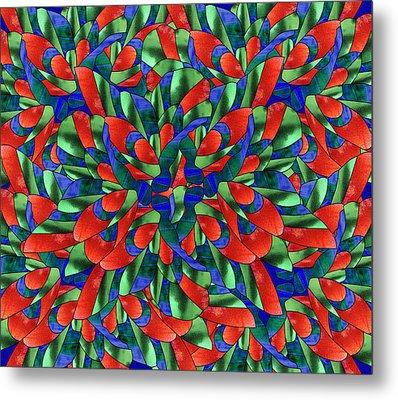A Maze Of Nature Metal Print