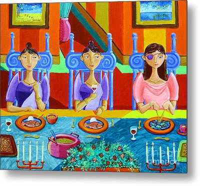 A Meal Without Rice Metal Print by Paul Hilario