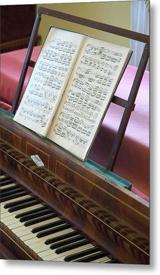 A Mendelssohn Composition On Piano Metal Print