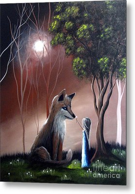 A Midnight Moment By Shawna Erback Metal Print by Shawna Erback