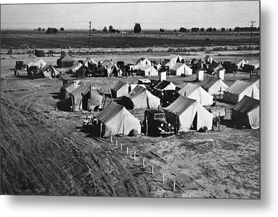 A Migratory Workers Camp Metal Print