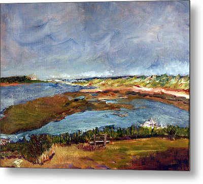 Metal Print featuring the painting A Million Dollar View by Michael Helfen