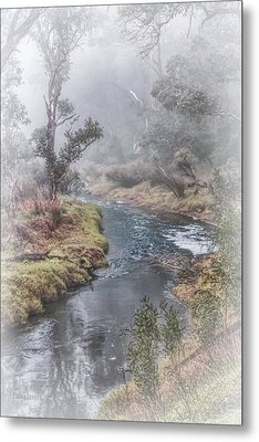 A Misty Morning In Bridgetown Metal Print