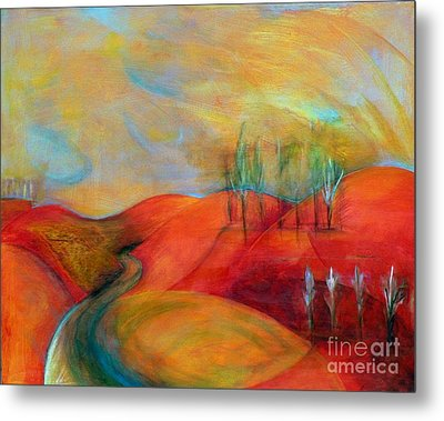 A Moment Ago Metal Print by Elizabeth Fontaine-Barr