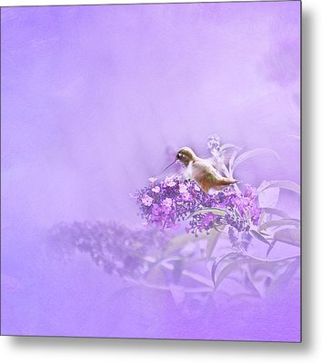 A Moment Metal Print by Diane Schuster