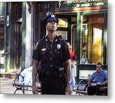 A Moment On 9/11/2001 Metal Print by Kosior