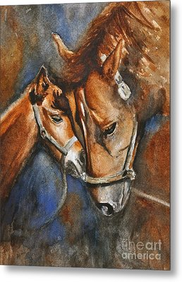 A Mother's Love Metal Print by Andrea Timm