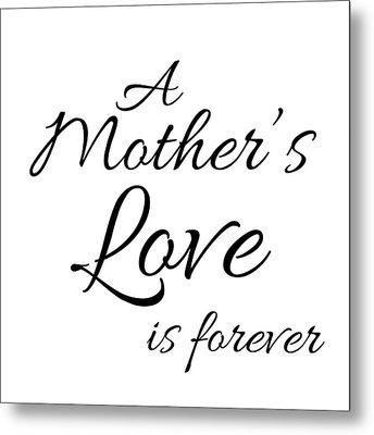 A Mother's Love Metal Print by Anna Quach