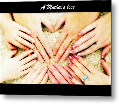 A Mother's Love Metal Print by Michelle Frizzell-Thompson