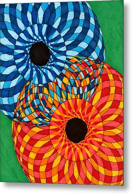 A Mother's Quilt Metal Print