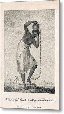 A Negro Slave Metal Print