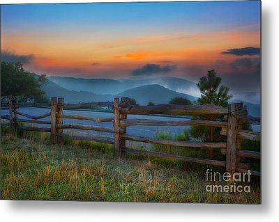A New Beginning - Blue Ridge Parkway Sunrise I Metal Print