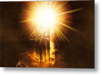 Metal Print featuring the digital art A New Dawn  by Fine Art By Andrew David