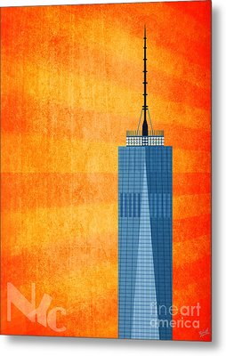 A New Day - World Trade Center One Metal Print by Nishanth Gopinathan