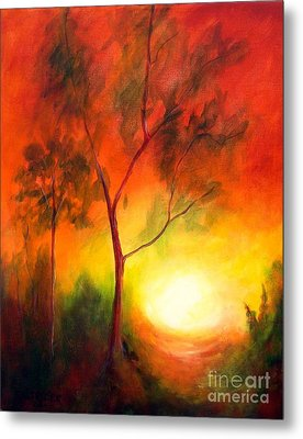A New Day Metal Print by Alison Caltrider