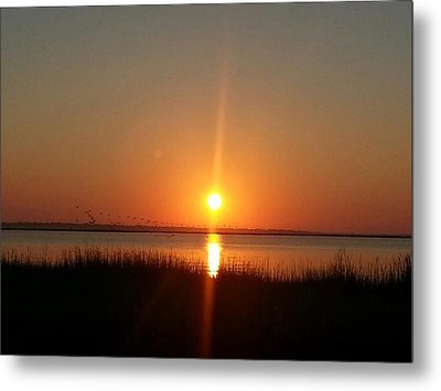 Metal Print featuring the photograph A New Day Is Born by Joetta Beauford