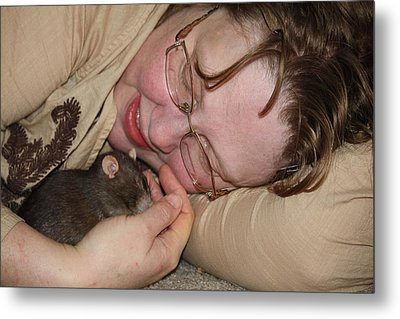A New Kind Of Intimacy No 3 Metal Print
