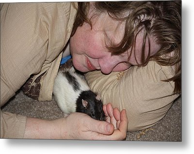 A New Kind Of Intimacy No Four Metal Print