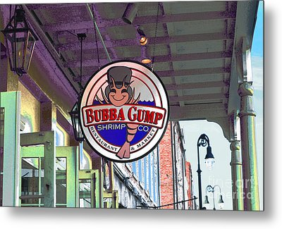 A New Orleans Favorite Metal Print by Alys Caviness-Gober