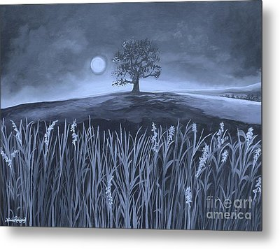 A Night At The Plains Metal Print