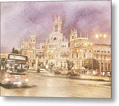 A Night In Madrid  Metal Print by Connie Handscomb