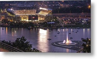 A Night On The Rivers Metal Print