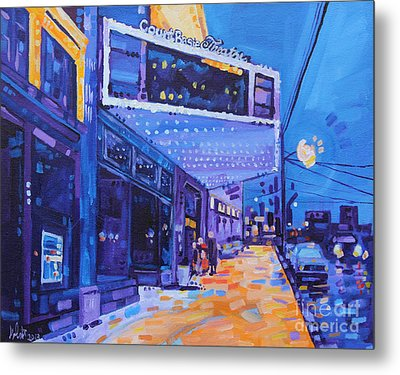 A Night Out Metal Print