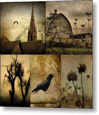 A Page  Metal Print by Gothicrow Images