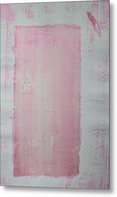 A Paler Shade Of Pink Metal Print by Asha Carolyn Young