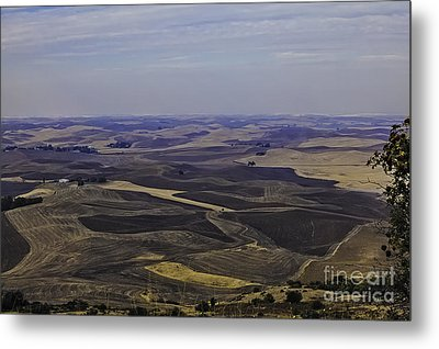 A Palouse State Of Mind Metal Print by Nancy Marie Ricketts