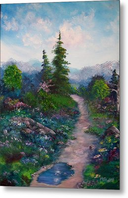 A Path Unknown Metal Print