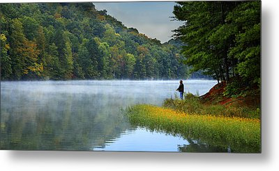 A Perfect Morning Metal Print by Wendell Thompson
