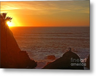 Metal Print featuring the photograph A Perfect Time by Nick  Boren