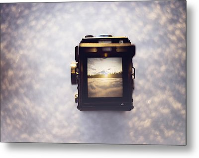 A Photographer's Perspective Metal Print by Amber Fite