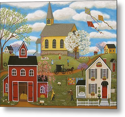 A Picture Perfect Day Metal Print by Mary Charles