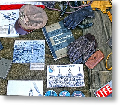 A Pilots Things - 01 Metal Print by Gregory Dyer