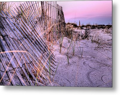 A Pink Sunrise Metal Print by JC Findley