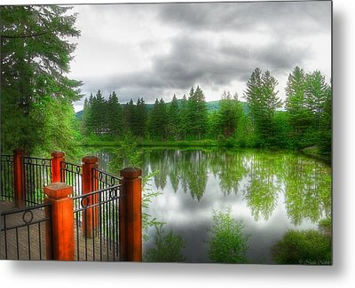 A Place By The Lake Metal Print