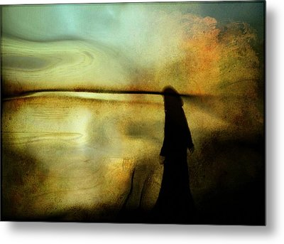 A Place For Thoughts Metal Print by Gun Legler