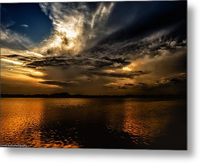 Metal Print featuring the photograph A Place Of Rest by Linda Karlin