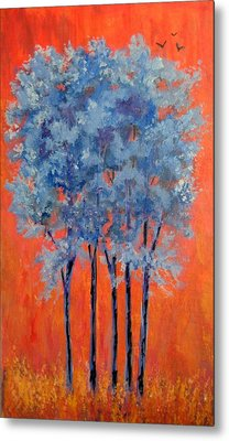 Metal Print featuring the painting A Place To Call Home by Suzanne Theis