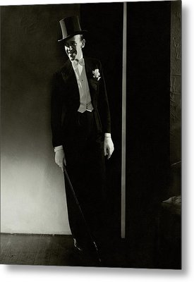 A Portrait Of Fred Astaire Metal Print by Edward Steichen
