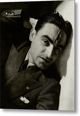 A Portrait Of Paolo Garretto Metal Print by Lusha Nelson