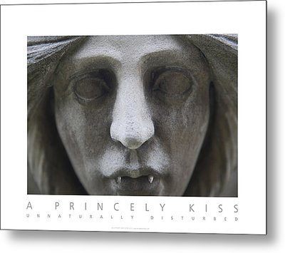 A Princely Kiss Unnaturally Disturbed Poster Metal Print by David Davies