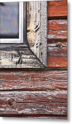 A Quarter Window Metal Print by Heiko Koehrer-Wagner