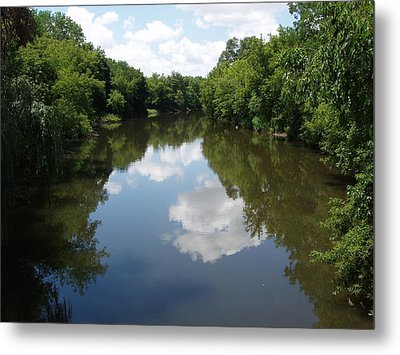 Metal Print featuring the photograph A Quiet River by Teresa Schomig
