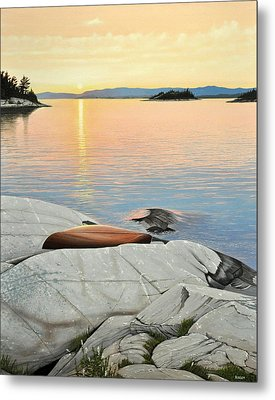 A Quiet Time Metal Print by Kenneth M  Kirsch