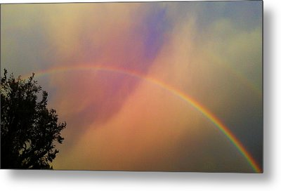 A Ranbow Metal Print by Chris Tarpening