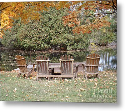 Relax For A Moment  Metal Print